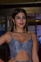 Rhea Chakraborty in a Sleeveless Deep neck Choli Dress Stunning Beauty at 64th Jio Filmfare Awards South ~  Exclusive 040.JPG