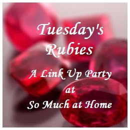 Tuesday's Rubies @ So Much at Home