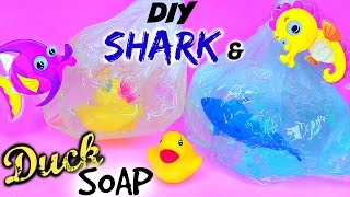 DIY Fish in a Bag Soap – DIY Shark & Duck Soap! Easy Soap Making How To for Beginners