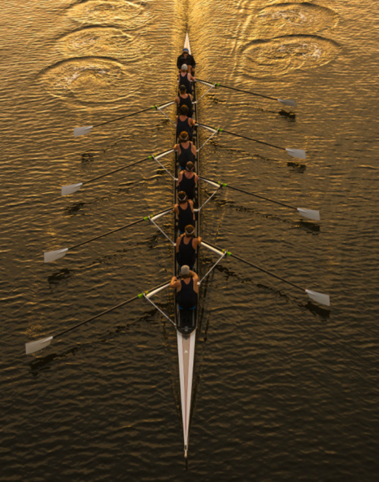 crew, rowing all eight