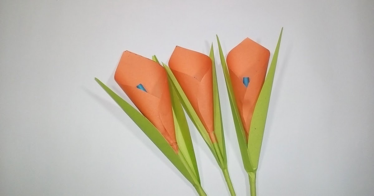 Easy paper origami how to make calla lily paper flower easy easy paper origami how to make calla lily paper flower easy origami flowers for beginners making easy paper origami mightylinksfo
