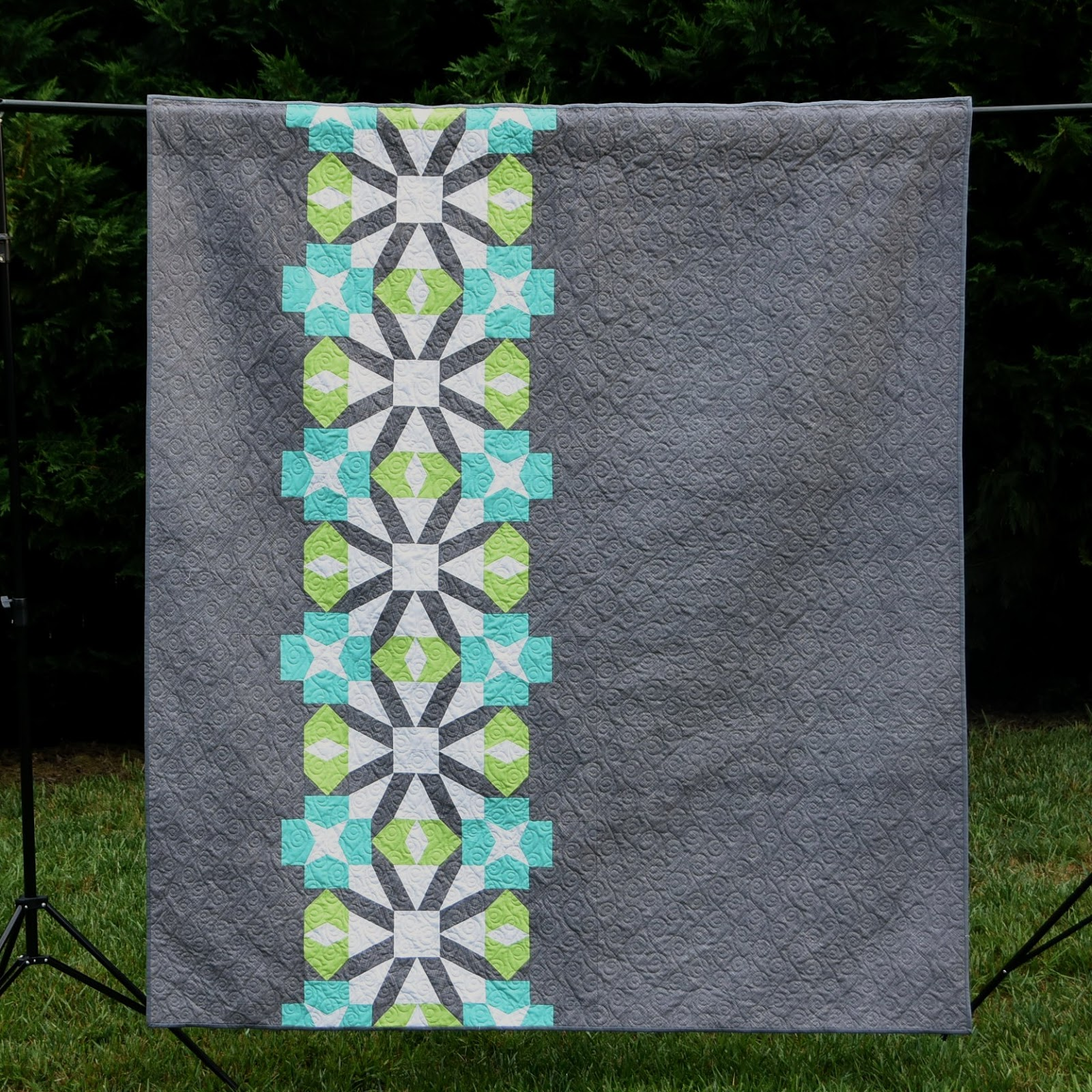 Meadow Mist Designs: Kiku Quilt in Quilts from 100 Blocks : quilting today magazine - Adamdwight.com