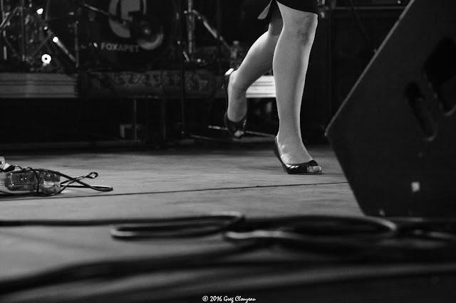 Backstage Foxapet au festival PAM 2016