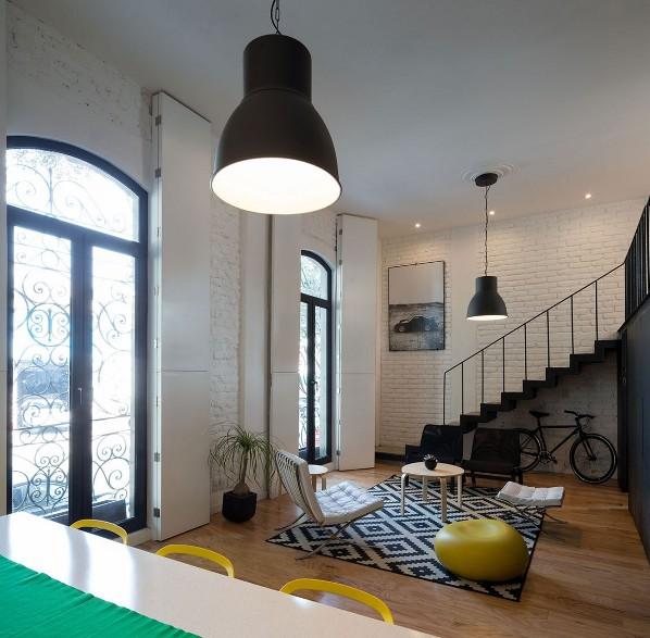 Loft en Córdoba decorado con muebles de Ikea chicanddeco