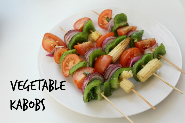 Vegetable kabobs recipe for the barbecue. Nourish ME - www.nourishmeblog.co.uk