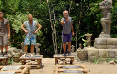 Survivor 22 - Redemption Island: You mangled my nets!