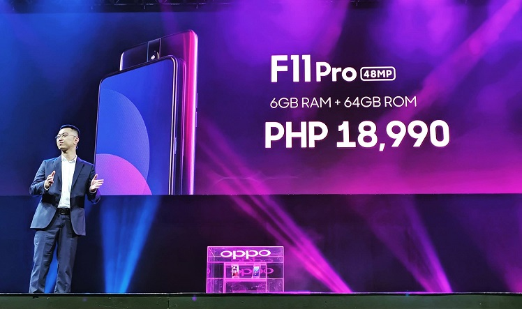 OPPO F11 Pro with Pop-up Selfie Camera Launches in PH!