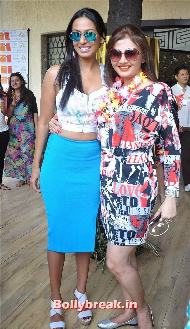 Kashmera Shah and Deepshikha, Bollywood Page 3 Celebs at Sheetal Nahar Brunch Party