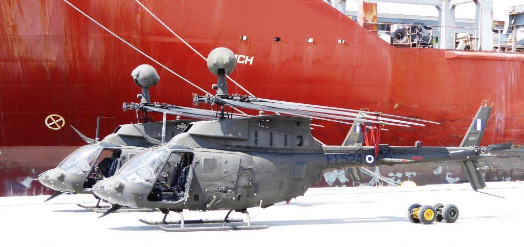 Κατέφτασαν τα «σαράβαλα» OH-58D Kiowa Warrior: Ήδη πέταξαν τα πρώτα αφού πετάνε πάλι καλα!