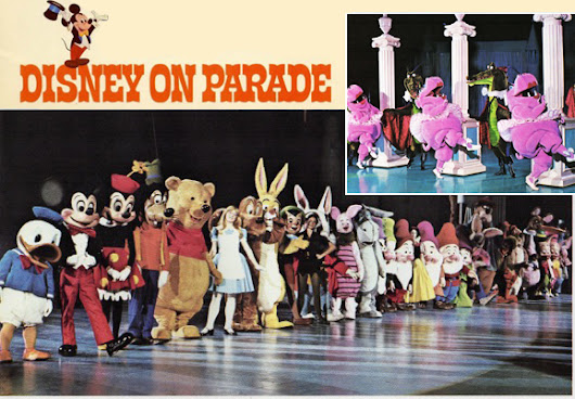 MUST SEE Footage of Disney On Parade Circa 1970
