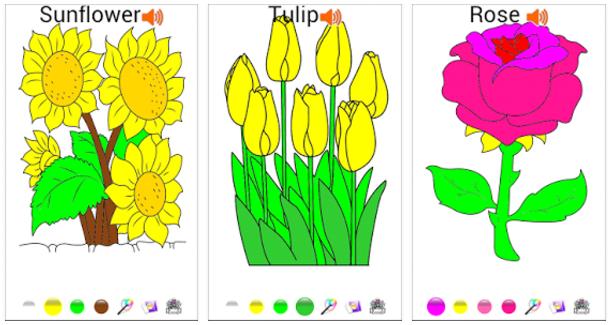 Free Download Aplikasi Game Android Belajar Mewarnai Untuk Anak PAUD