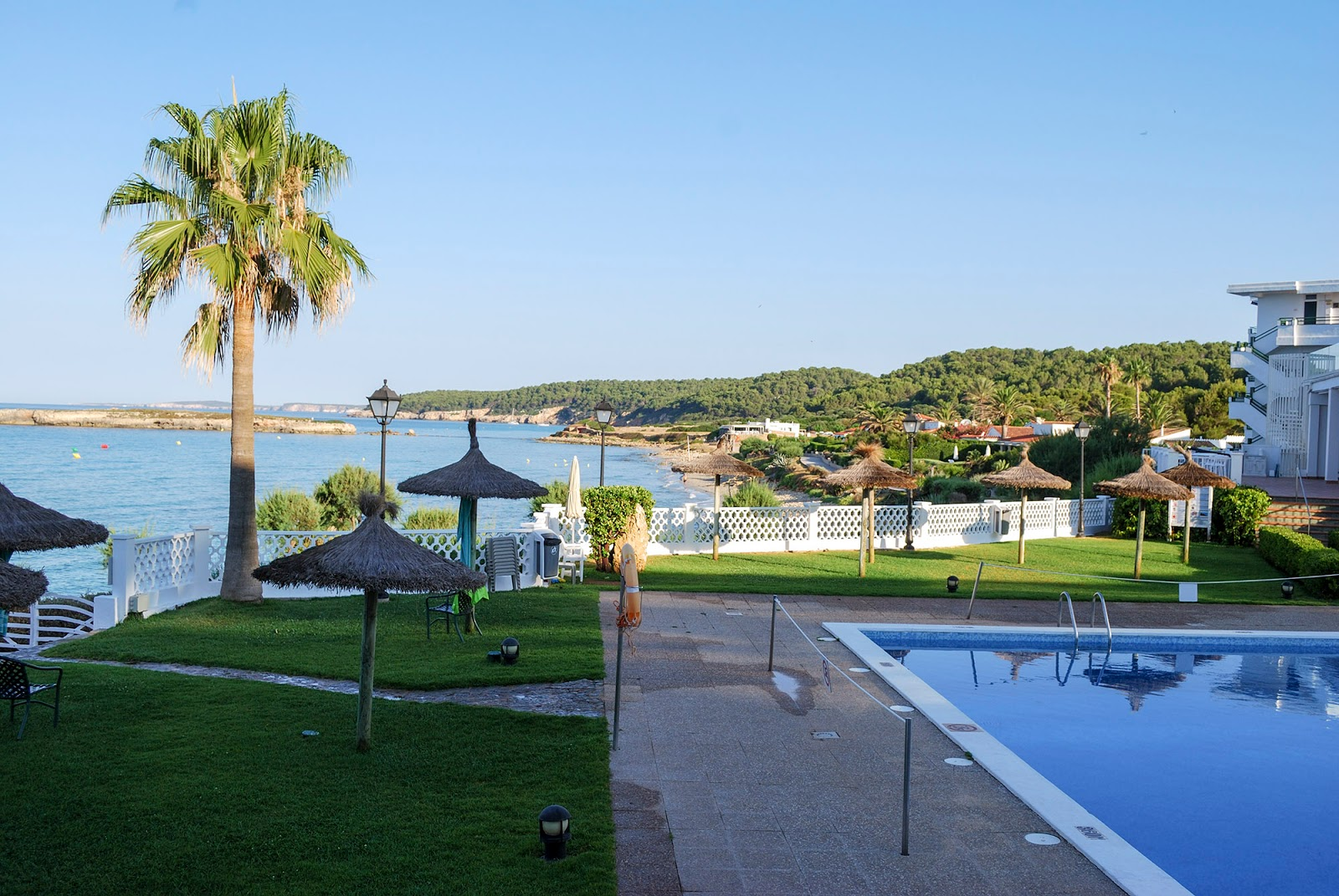 Sol Beach House Menorca Spain Melia Hotel swimming pool