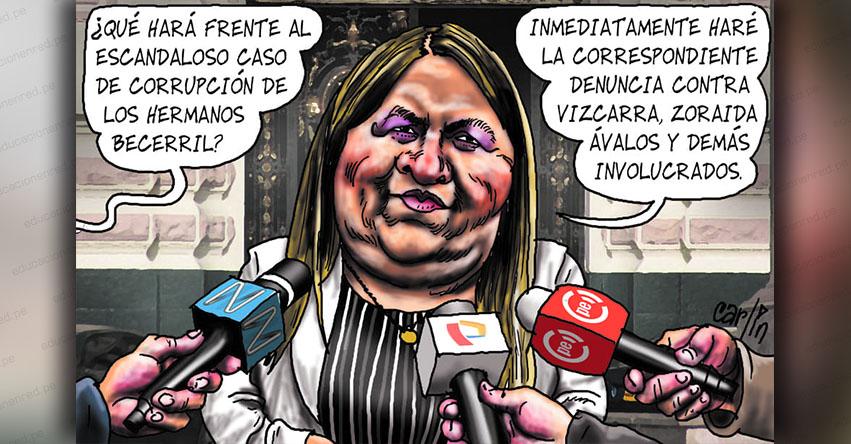 Carlincaturas Miércoles 6 Febrero 2019 - La República