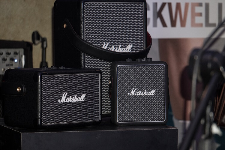 Hit the Road with Marshall's Portable Speakers