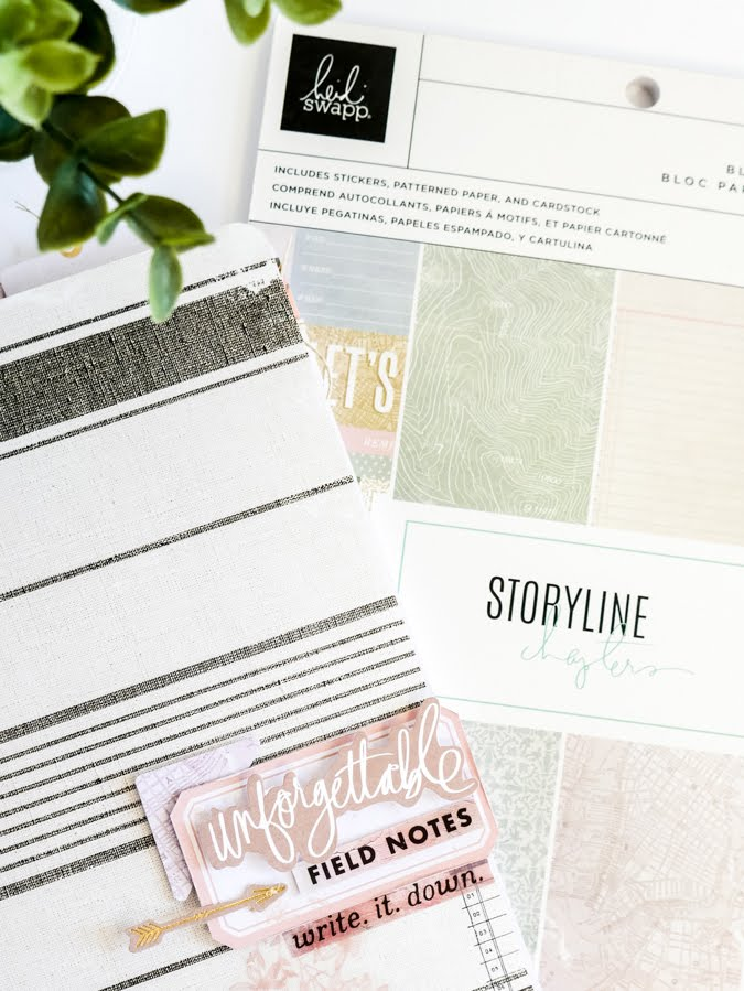Put the Heidi Swapp Storyline Journaler To Work :: Jamie Pate