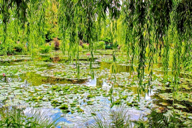 Claude Monet gardens Giverny