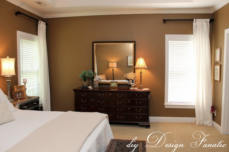 diy Design Fanatic: Decorating A Master Bedroom On A Budget
