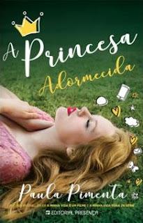 Princesa Adormecida - Paula Pimenta - capa potuguesa