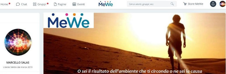 Marcello on MeWe