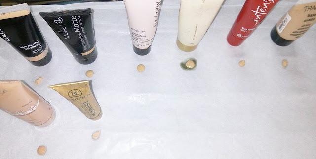 Fazendo o Teste de Oleosidade das Bases