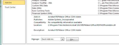 FranScribing: How to convert an Excel 2010 speadsheet to an