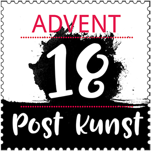 Advents-Postkunst