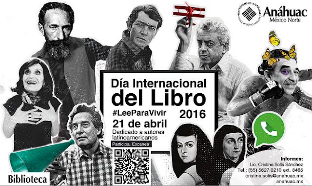 Universidad Anáhuac celebra día Internacional del Libro