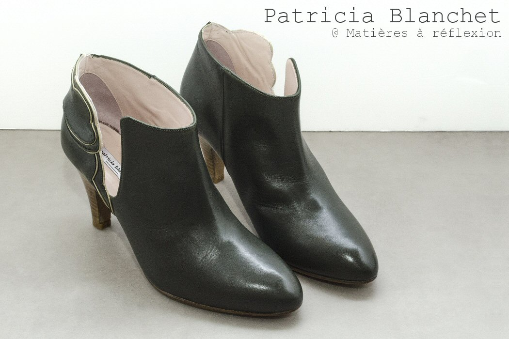 Patricia Blanchet boots kaki