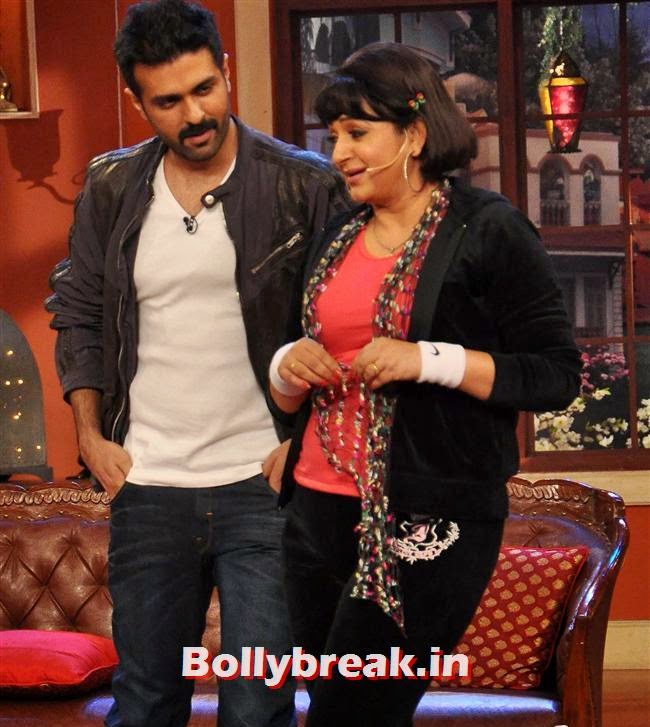 Harman Baweja and Upasana Singh, Shilpa Shetty Promotes Dishkiyaaoon Promotion on Comedy Night with Kapil