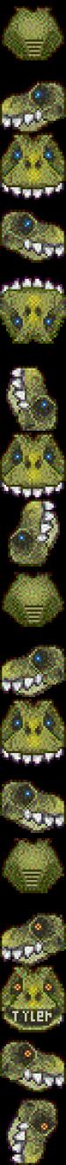 Graal head and templates: animal/non human heads