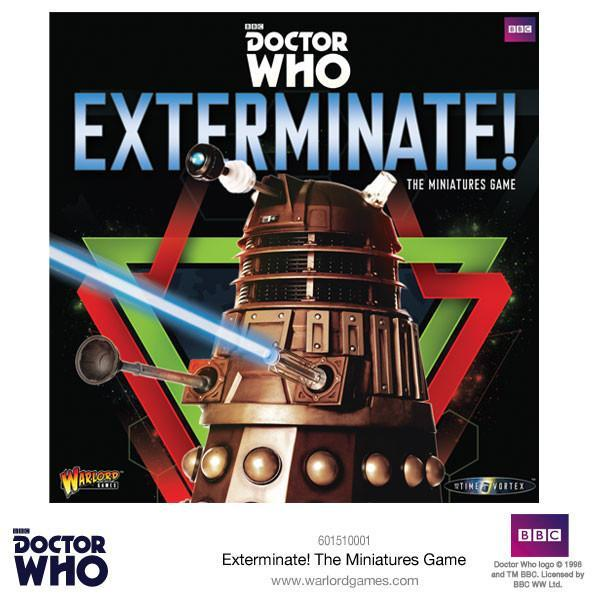 Element Games: Doctor Who - Exterminate! - In to the Time Vortex Miniature Game