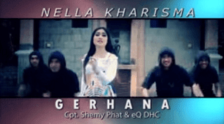 Lirik Lagu Hatiku Gerhana - Nella Kharisma