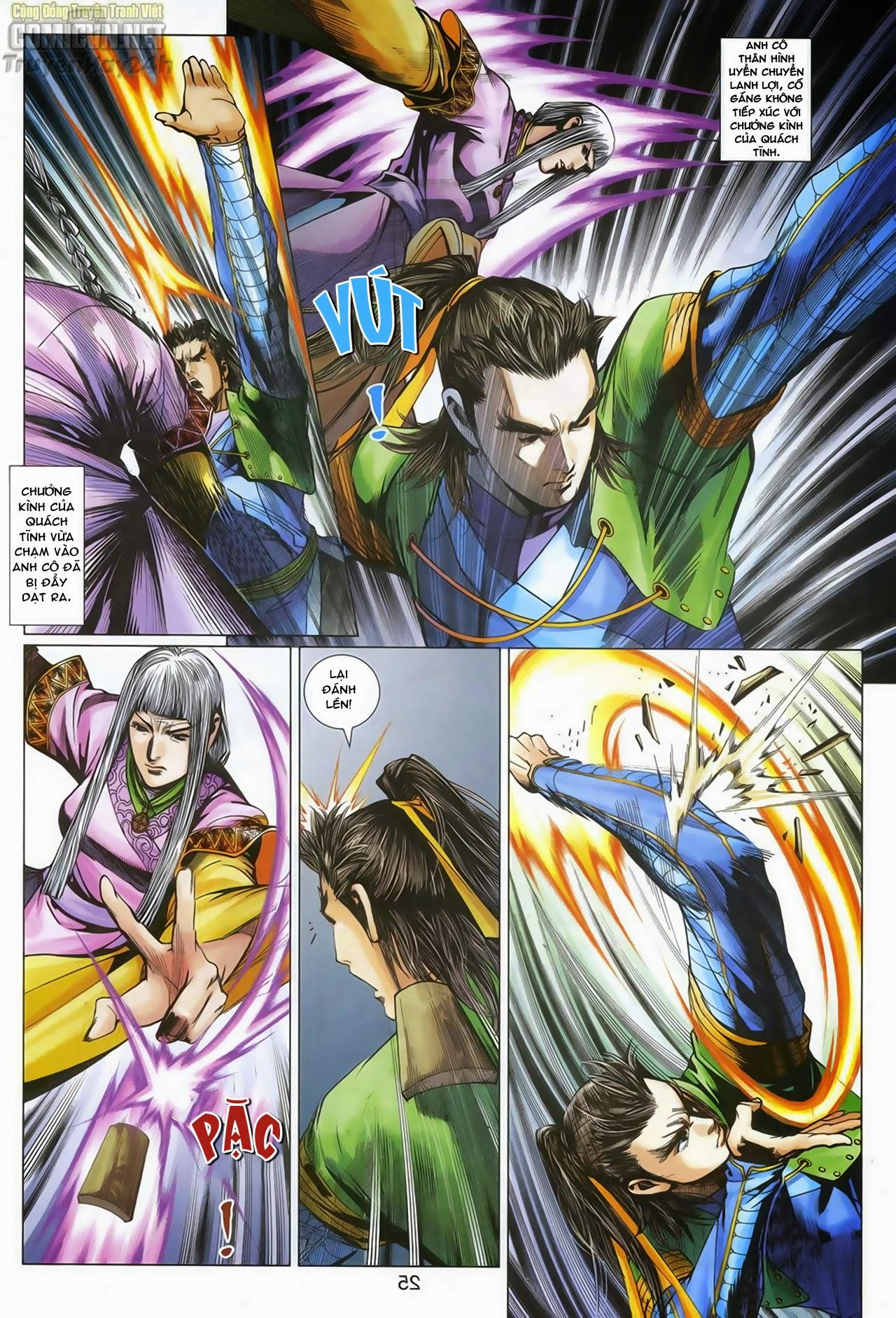 Anh Hùng Xạ Điêu anh hùng xạ đêu chap 70: hắc chiểu ẩn nữ trang 26