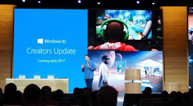 تحديث ويندوز 10 الجديد  Windows 10 Creators