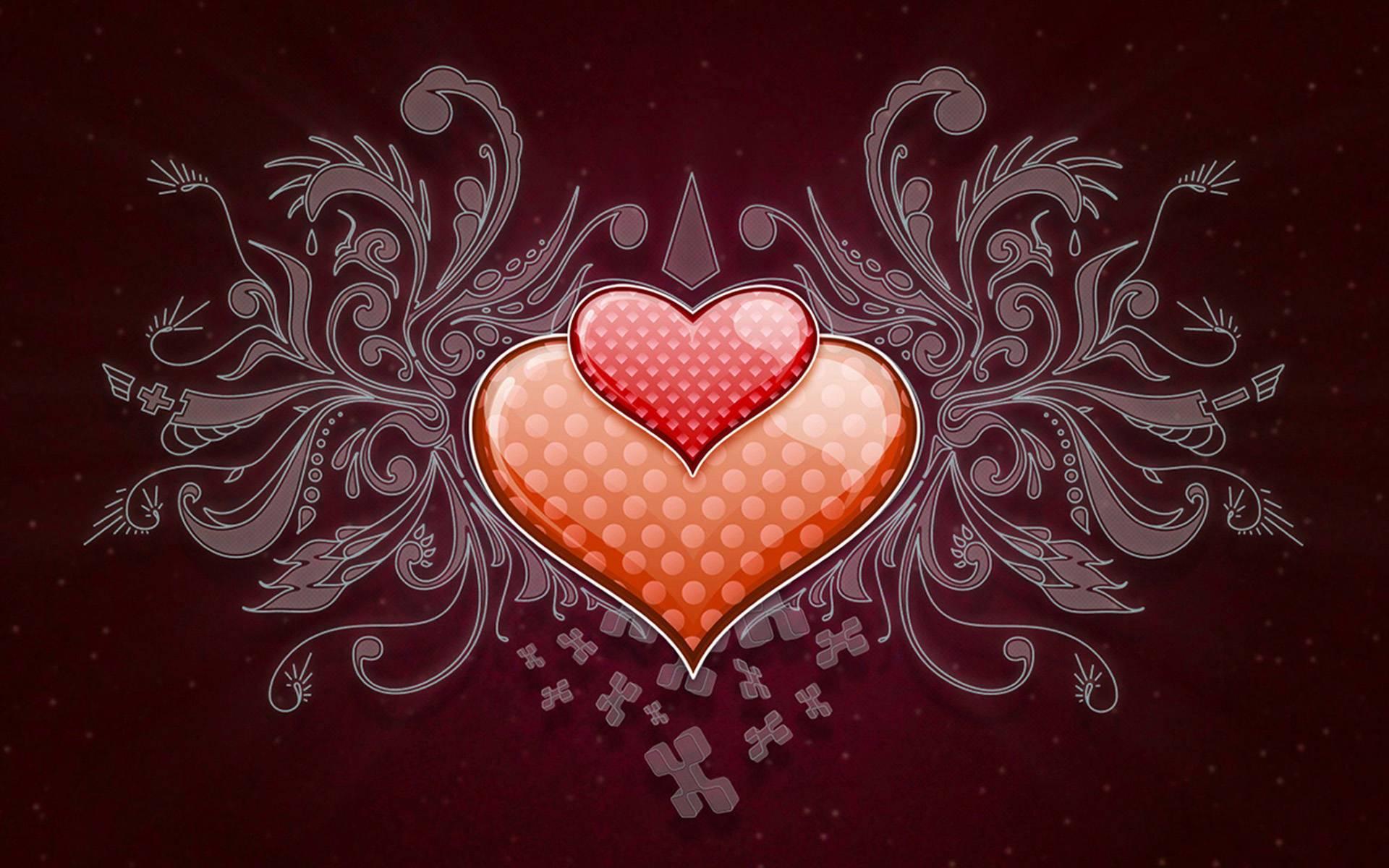 pretty heart designs wallpapers - photo #23