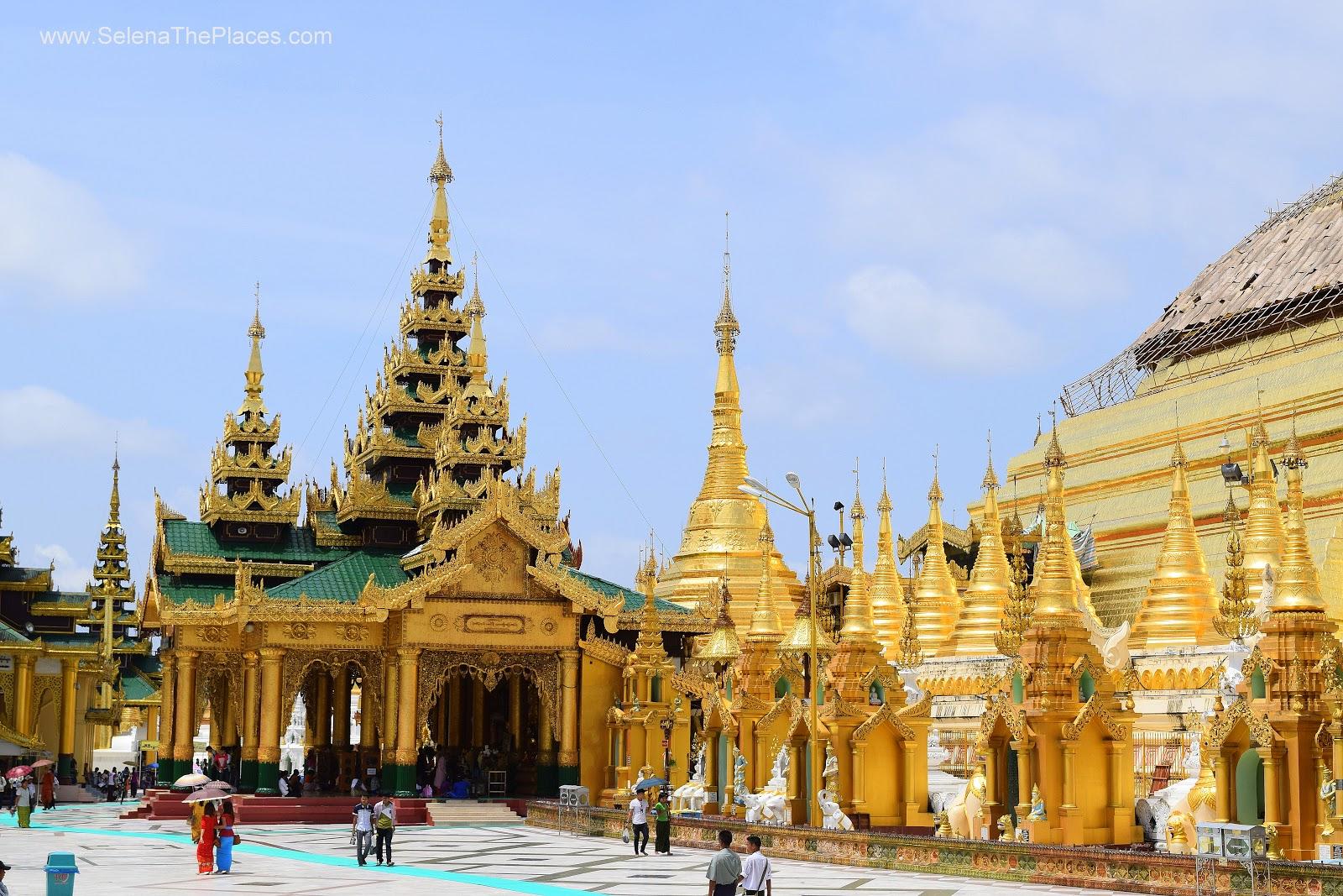 Shwedagon Pagoda in Yangon