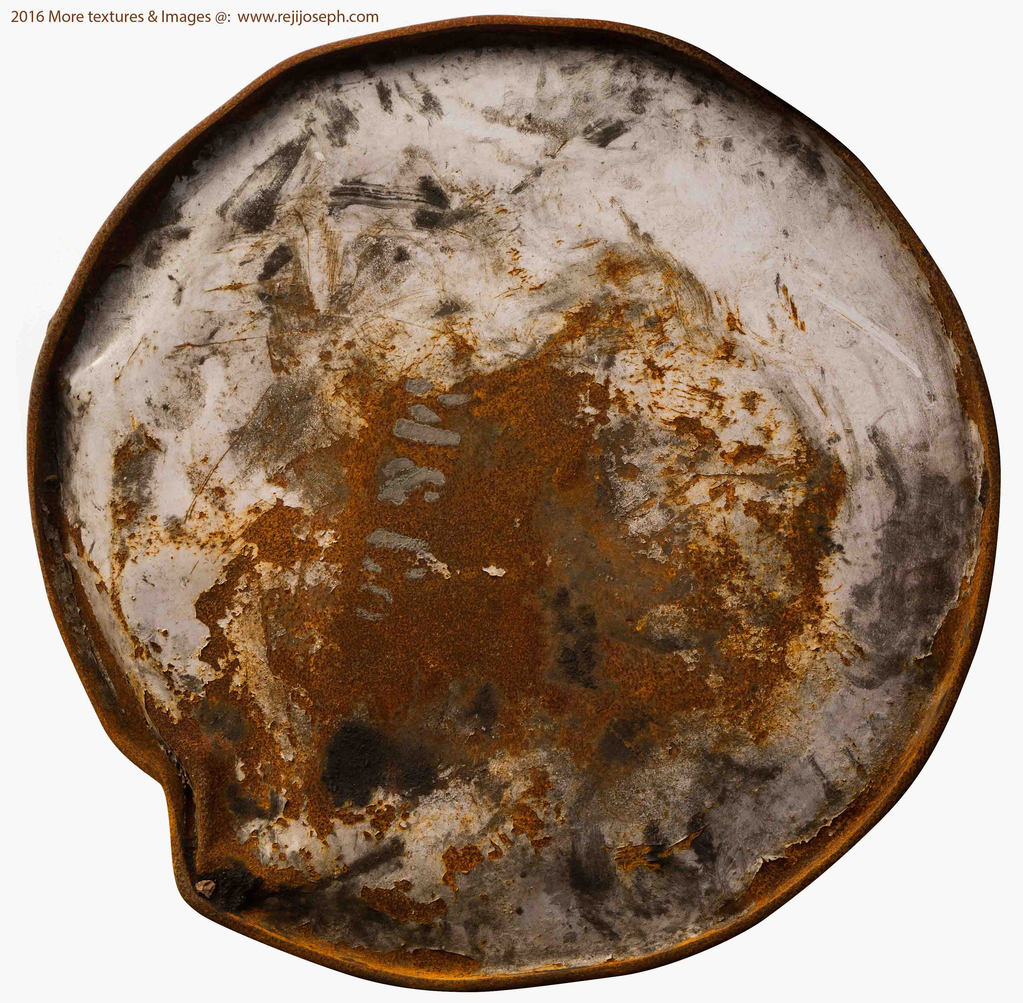Rusty metal Oil can texture 00012