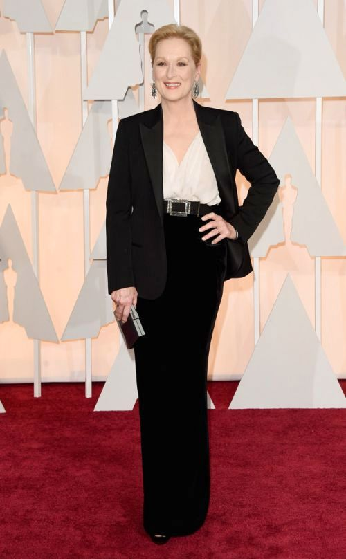 Meryl Streep in Lanvin at the Academy Awards 2015