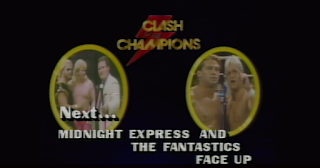 NWA CLASH OF THE CHAMPIONS 1 - 1988: Midnight Express (w/ Jim Cornette) vs. The Fantastics for the NWA US Tag Team Titles