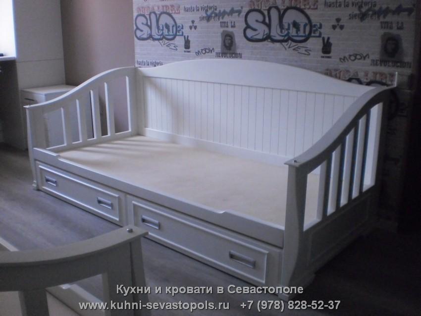 Кровать с матрасом Севастополь