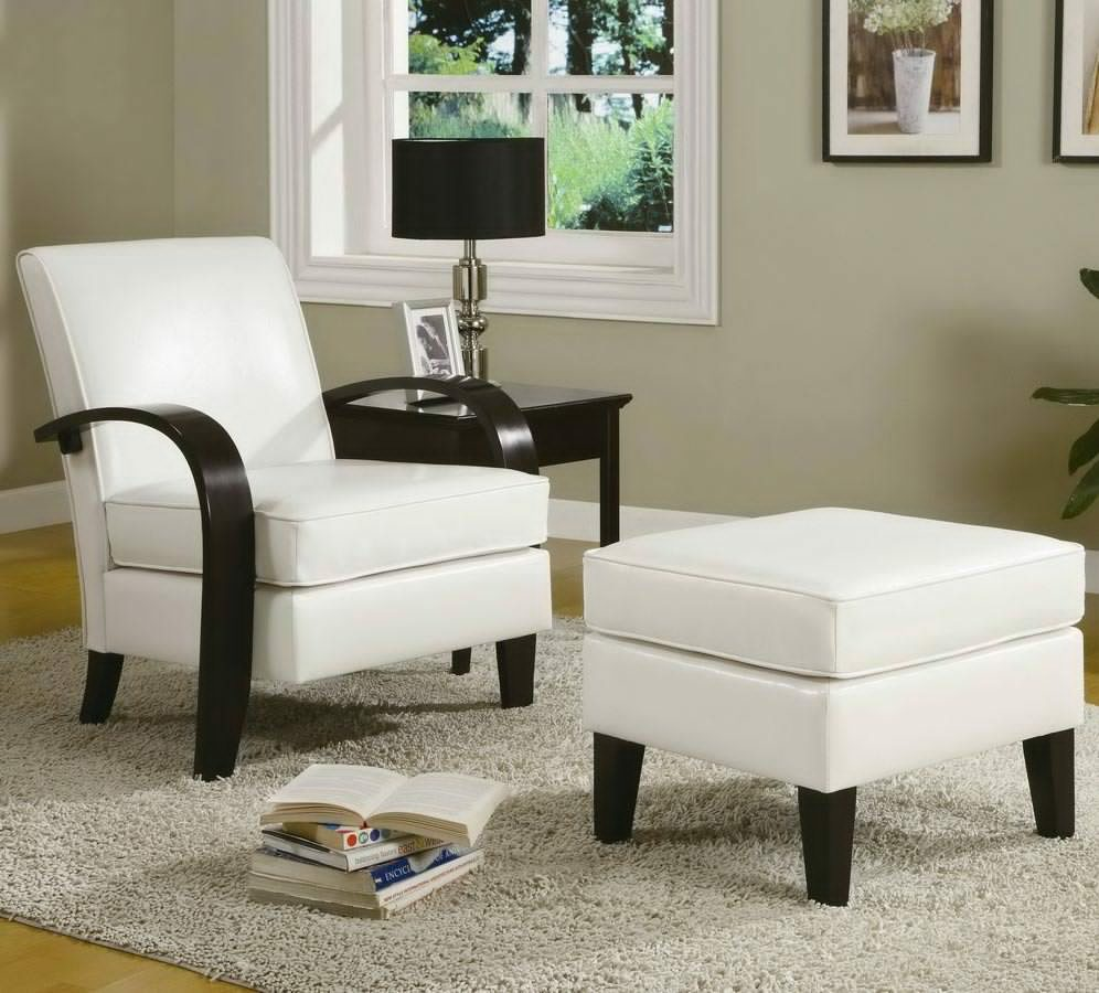 Living Room Chairs with Ottomans Large Style - Home Cheap Solution