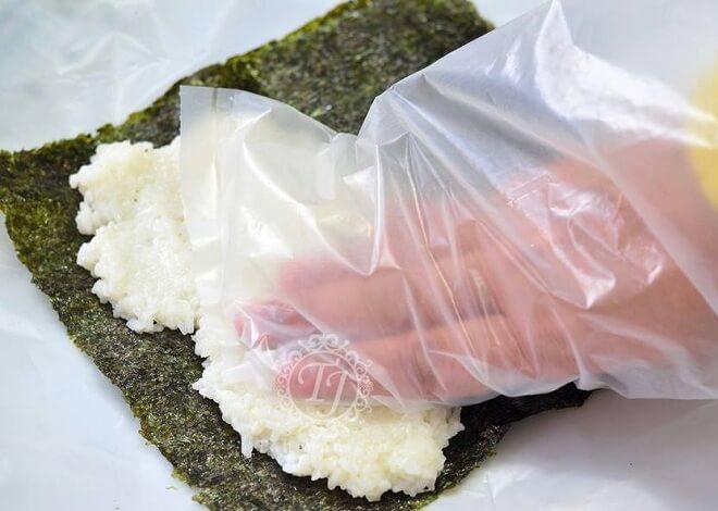 Cara membuat sushi 1