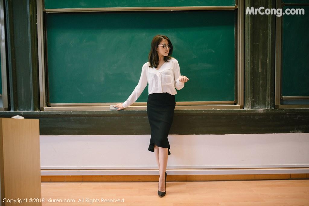 Image XIUREN-No.1267-Sabrina-Xu-Nuo-MrCong.com-003 in post XIUREN No.1267: Người mẫu Sabrina (许诺) (45 ảnh)