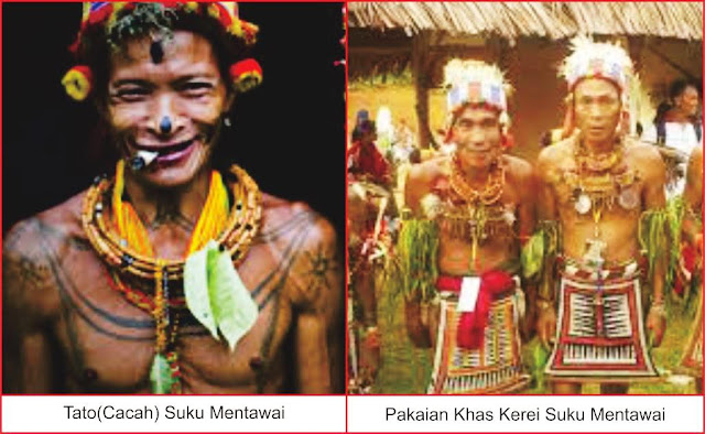 gambar pakaian adat mentawai sumatera barat