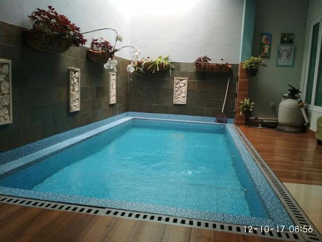 kolam pribadi