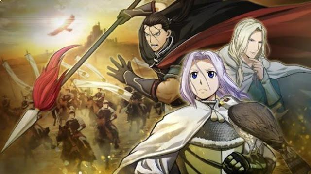 Arslan Senki - Anime Tokoh Utama Menggunakan Pedang