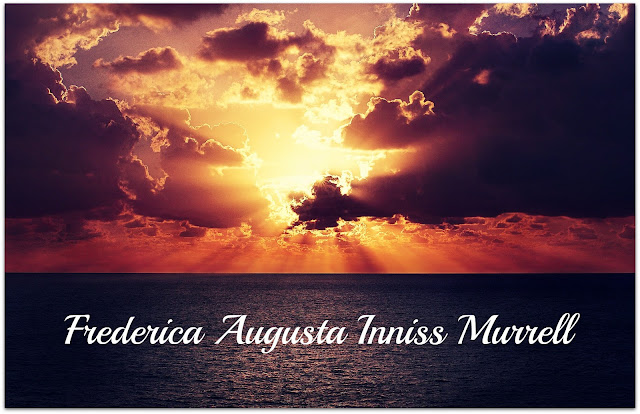 52 Ancestors In 52 Weeks 2018 Edition: #6 Favorite Name --Frederica Augusta --How Did I Get Here? My Amazing Genealogy Journey