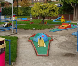 Crazy Golf course at Playland in Stourport on Severn