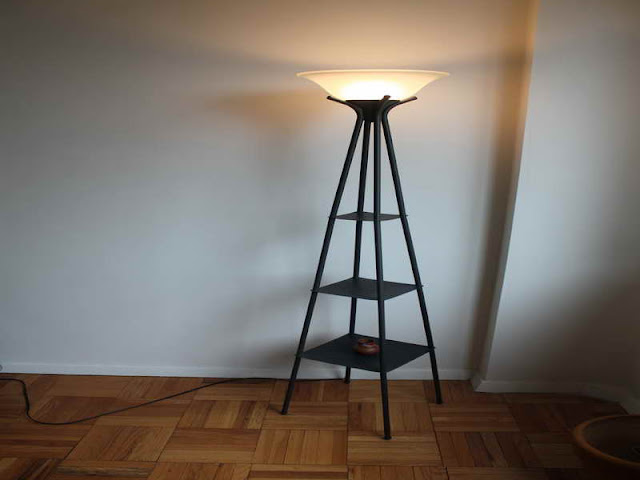 Decorative Floor Lamps Decorative Floor Lamps contemporary style living room decoration tiffany torchiere shelf floor lamp three tier floor lamp shelves design black color finish iron material frosted glass lamp shades