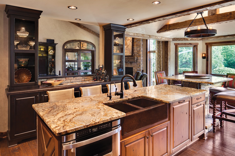 Fantasy Brown Granite Kitchen Countertop